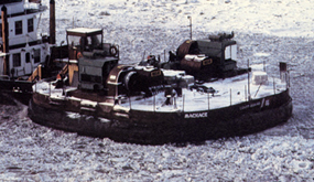 Ice Breaking Hoverbarge 1980
